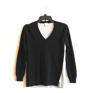 J. Crew Merino V Neck Sweater